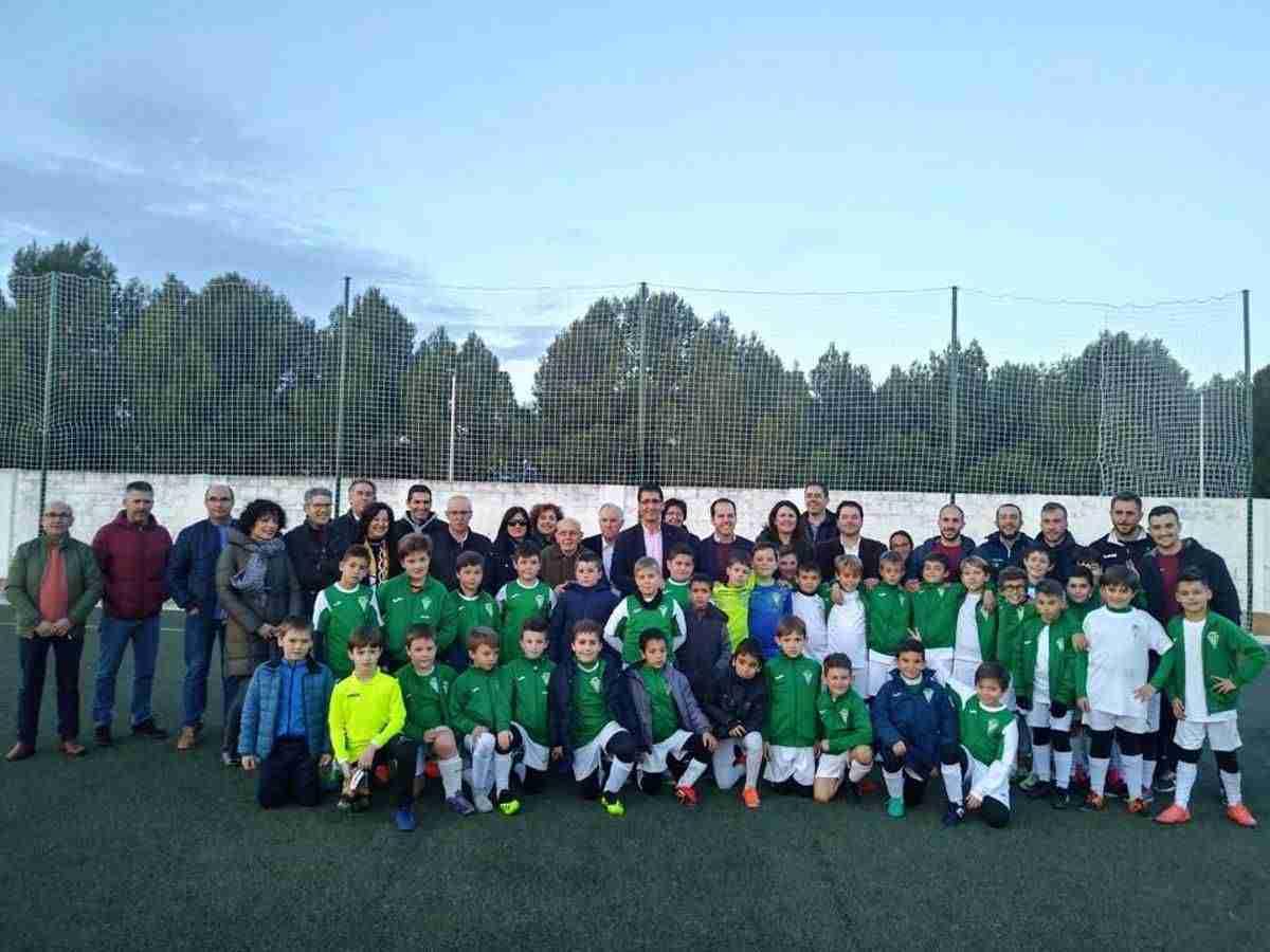 Diputación de Ciudad Real equipa y amplia el campo de fútbol de Herencia 9