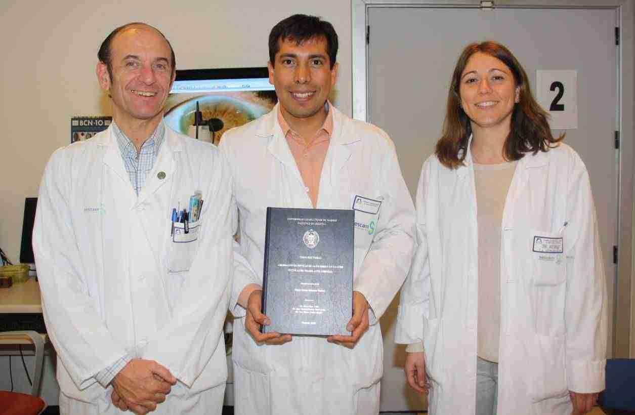 Matrícula de honor para la tesis de un oftalmólogo del Hospital Mancha Centro sobre la calidad óptica en los trasplantes corneales 1