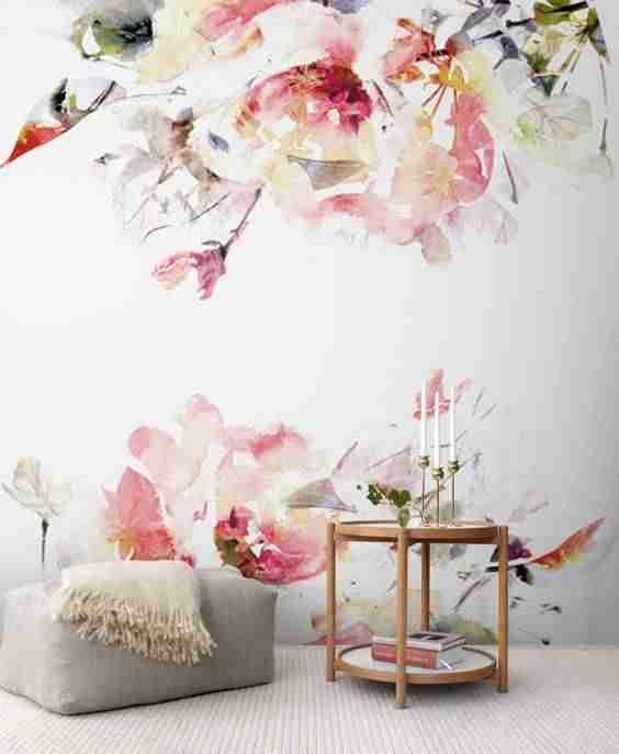 decorar con papel pintado III