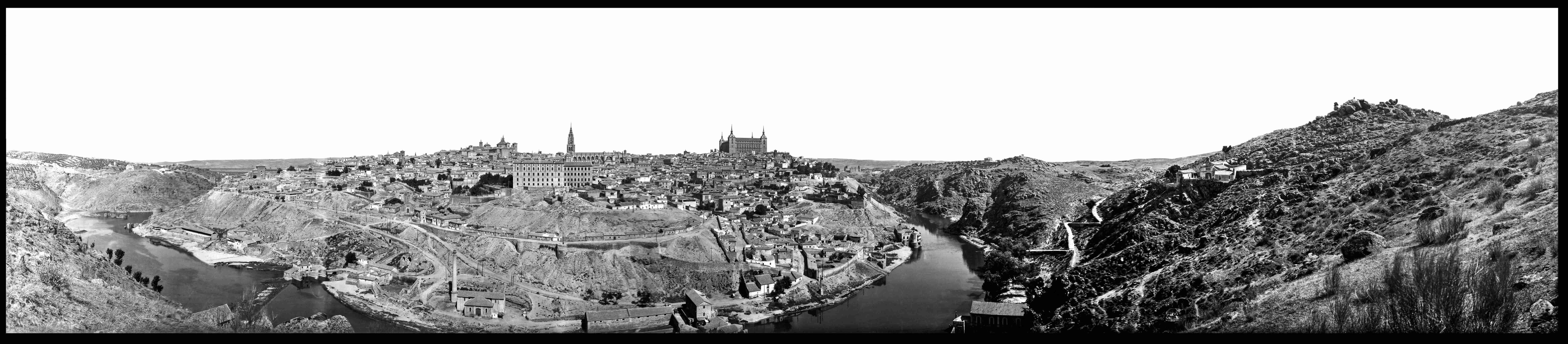 Nuestro regalo de Reyes: Una panorámica de Toledo desde los cigarrales de 1932 3