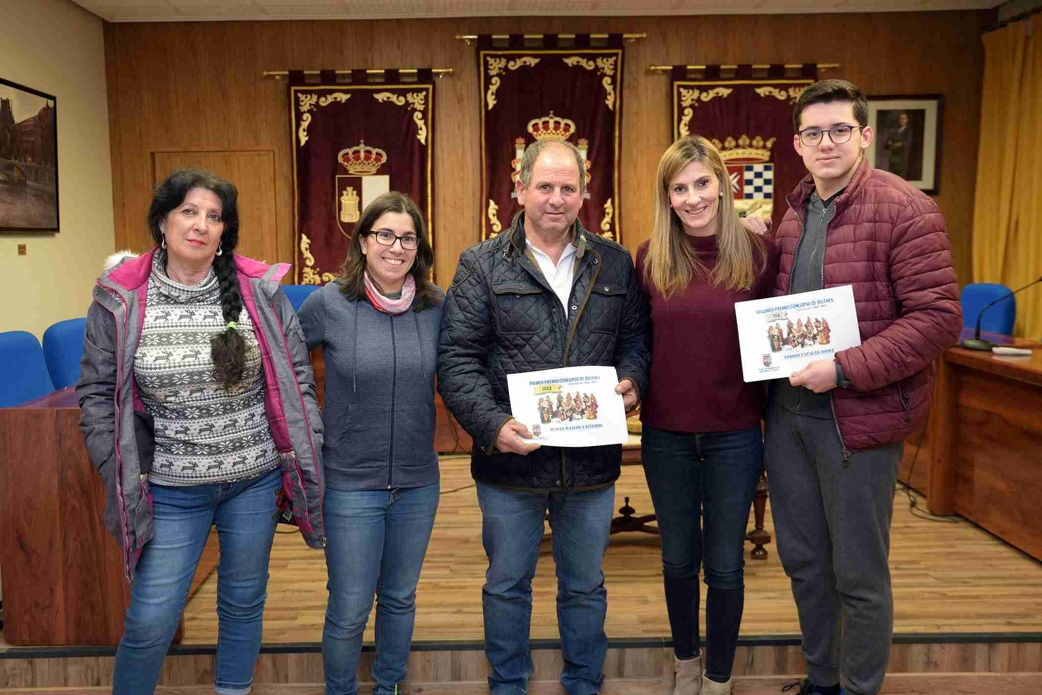 Julián Mateos gana el primer premio del Concurso de Belenes de Argamasilla de Alba 3
