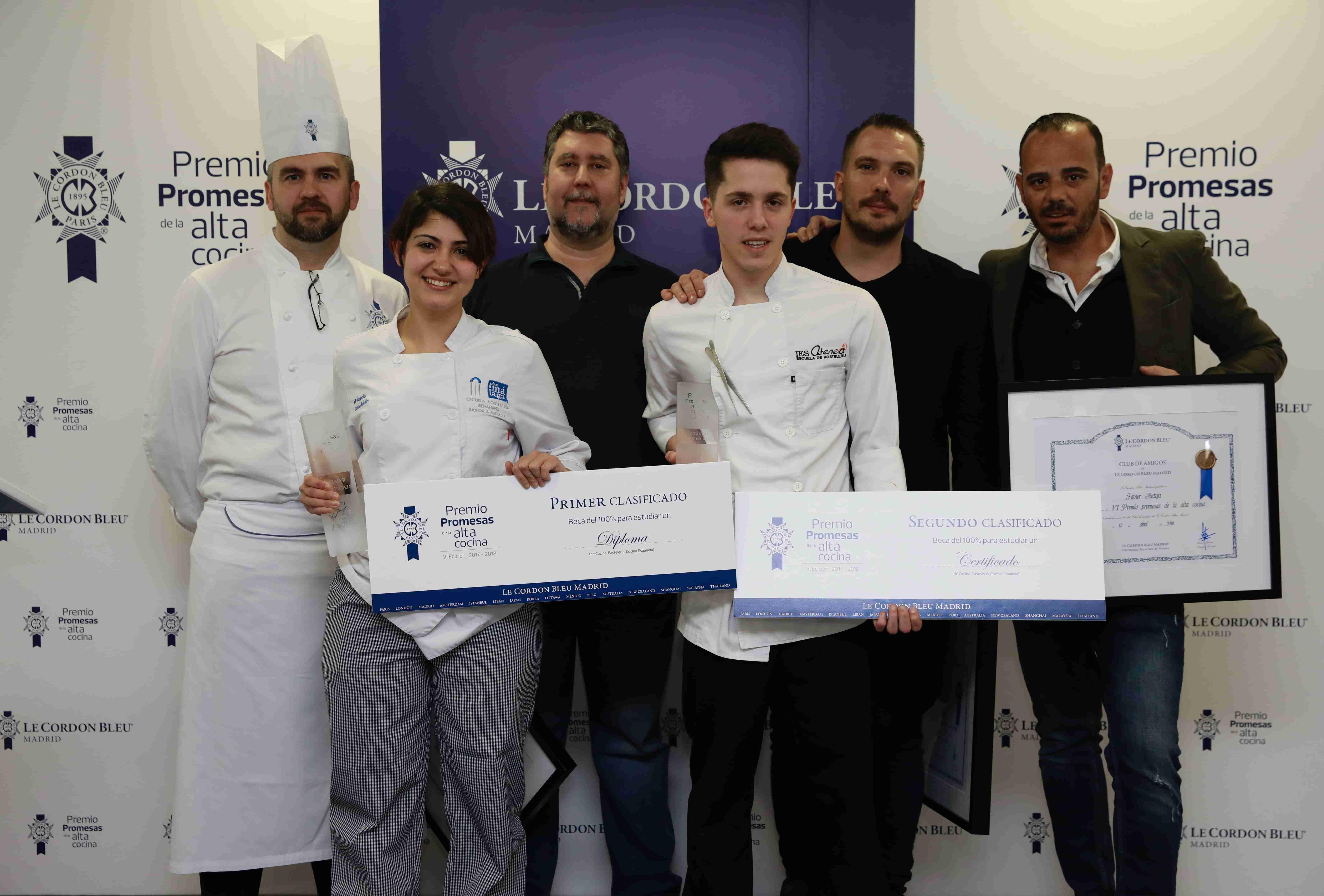 Dos estudiantes de Ciudad Real en el VII Premio Promesas de la Alta Cocina de Le Cordon Bleu Madrid 3