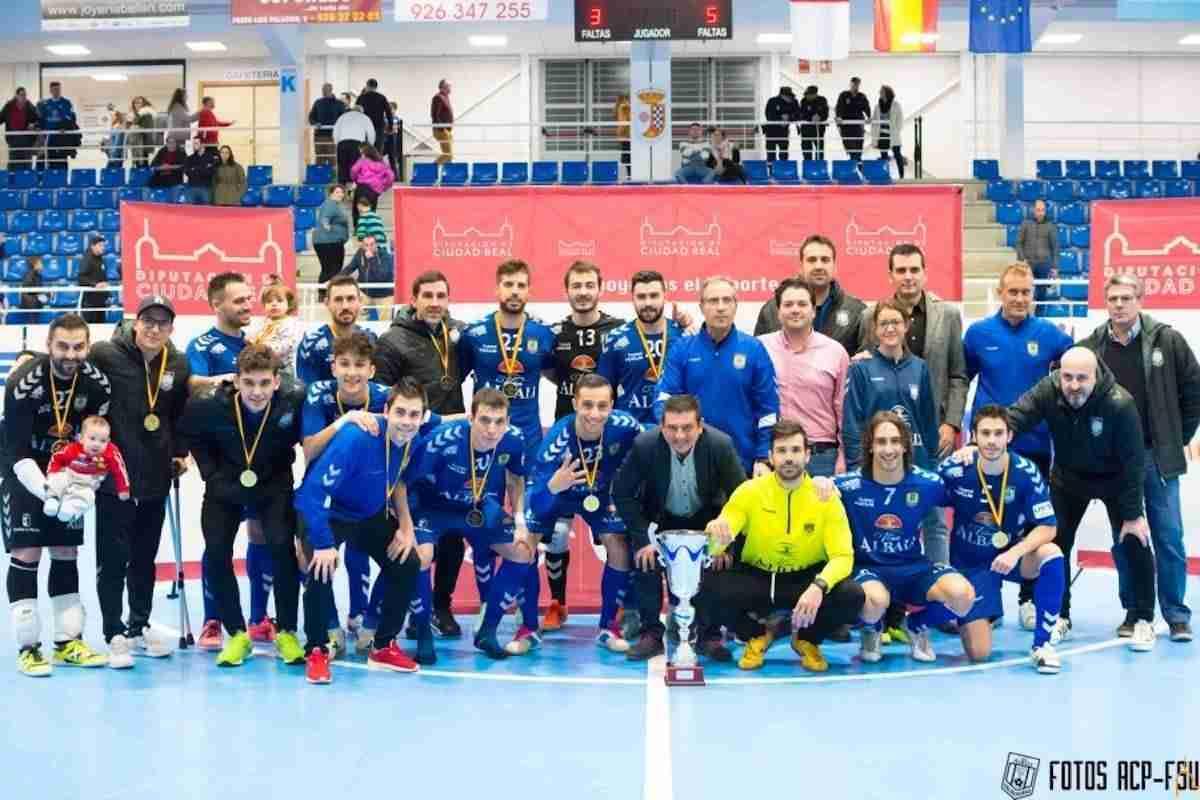 El Viña Albali Valdepeñas se proclamó campeón del VII Trofeo Diputación de Fútbol Sala 3