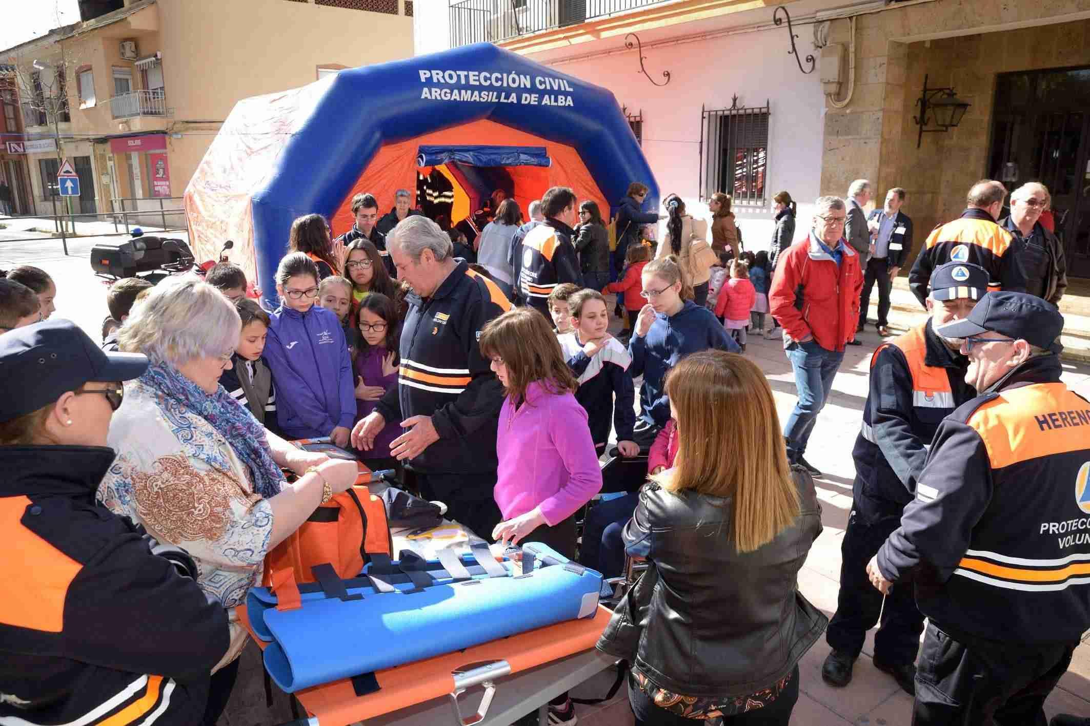 Argamasilla de Alba acoge la entrega de material de emergencia a siete agrupaciones de Protección Civil 1