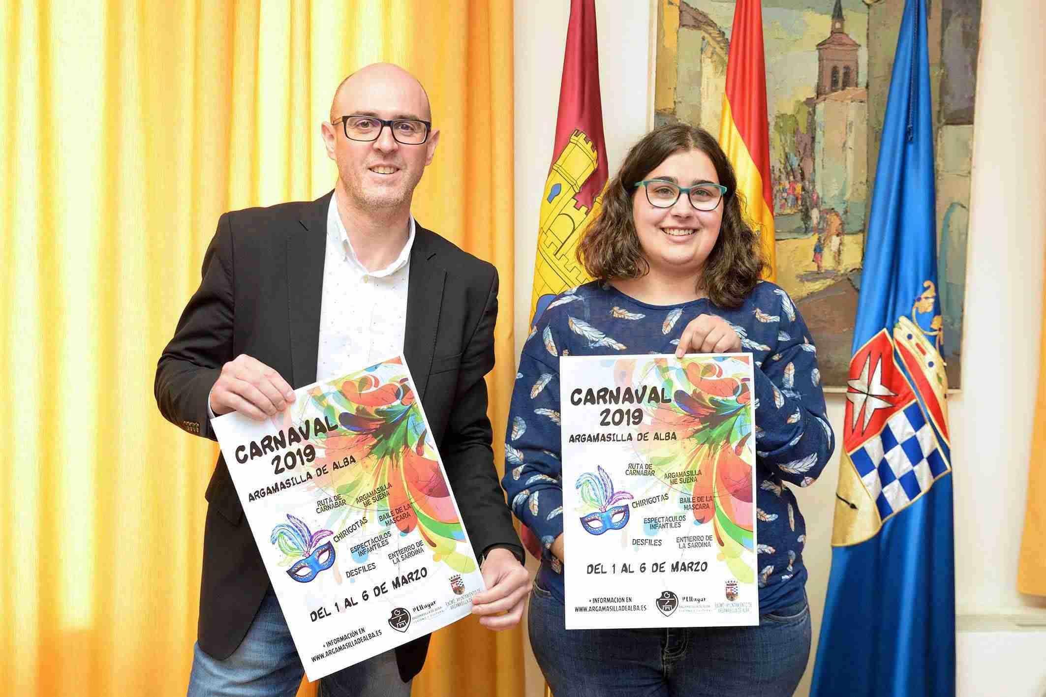 Presentación del Carnaval 2019 de Argamasilla de Alba 1