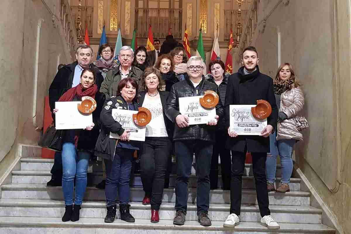 La Diputación Provincial reconoce a los hosteleros argamasilleros que participaron en 'Sabores del Quijote' 1