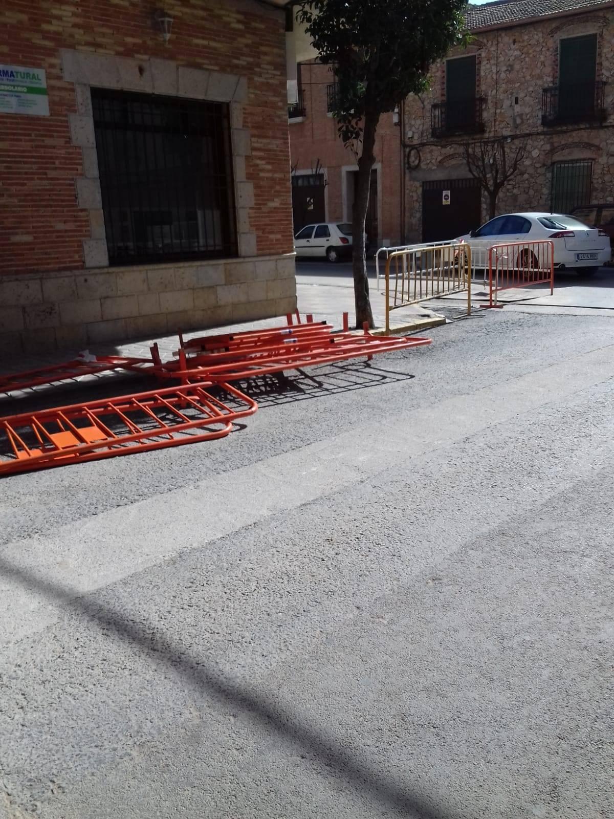 """El PSOE de Villarrubia denuncia molestias y falta de seguridad a causa de la """"oleada de obras aceleradas de la alcaldesa"""" 5"""