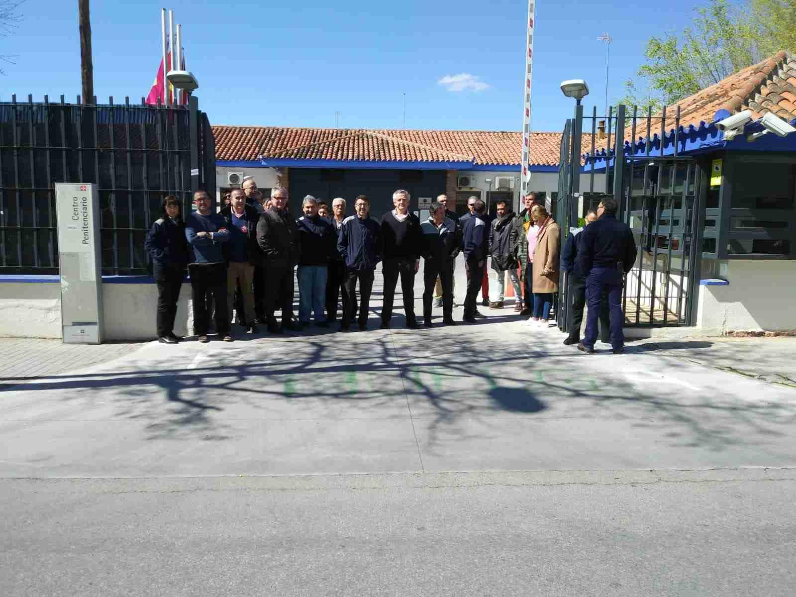 Empleados públicos de prisiones de Ciudad Real paran para protestar contra el incremento de agresiones a funcionarios 3