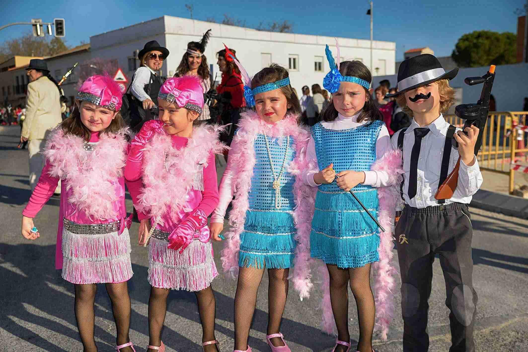 El Desfile de Comparsas Infantiles abre la actividad en la calle del Carnaval de Argamasilla de Alba 10