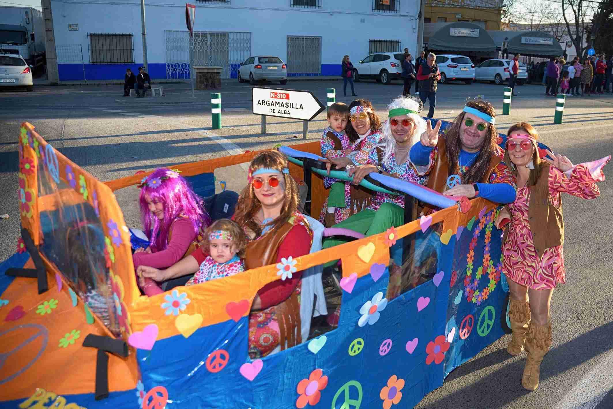 El Desfile de Comparsas Infantiles abre la actividad en la calle del Carnaval de Argamasilla de Alba 8