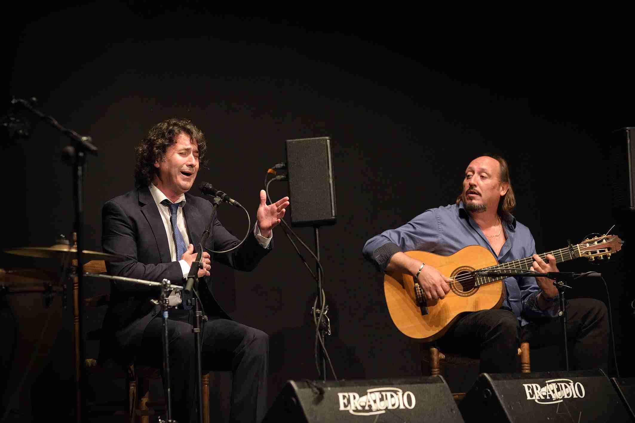 """Julián Estrada y El Troya en el VII Festival Flamenco """"Primavera del Cante"""" de Argamasilla de Alba 1"""