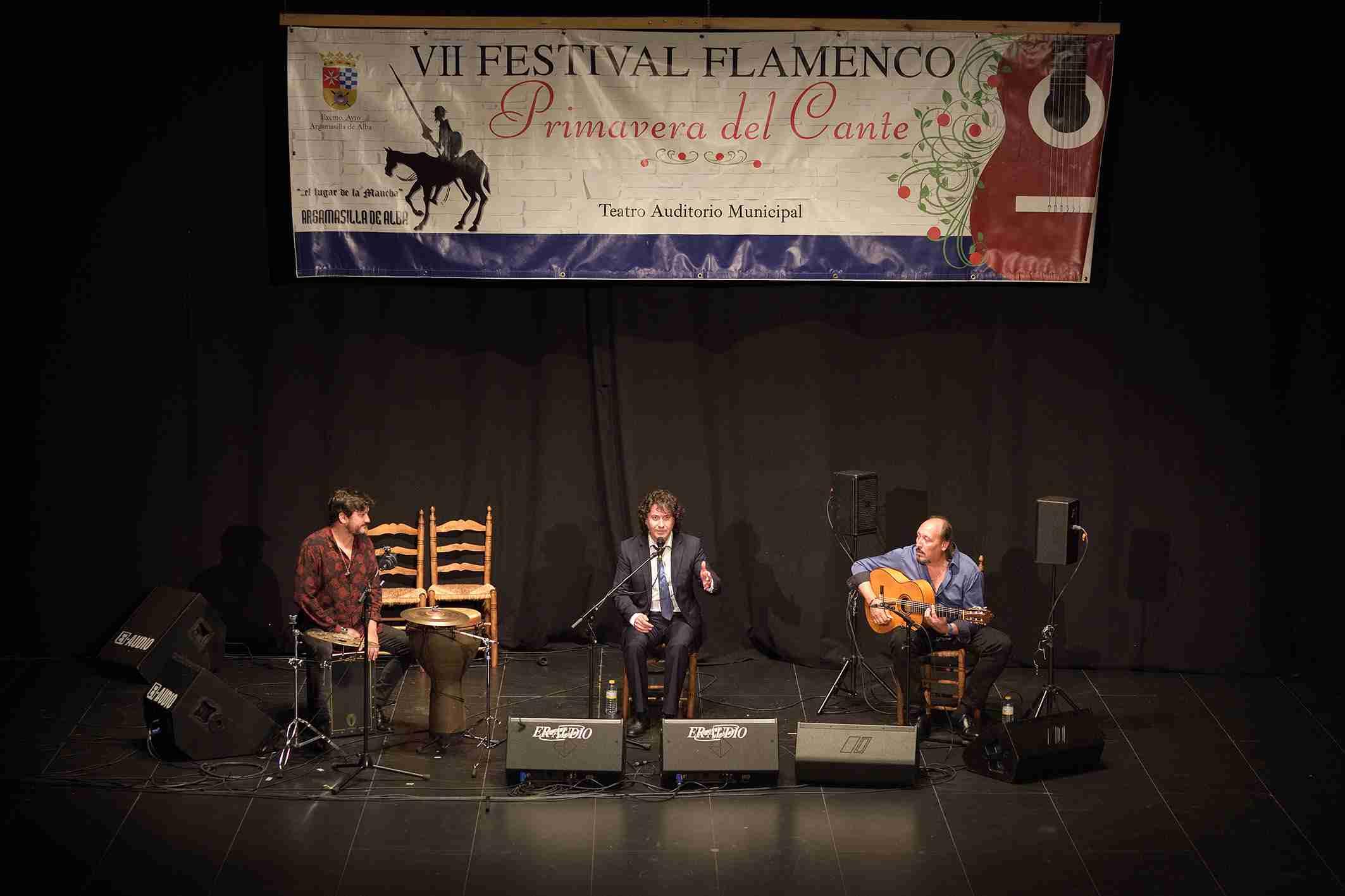"""Julián Estrada y El Troya en el VII Festival Flamenco """"Primavera del Cante"""" de Argamasilla de Alba 2"""