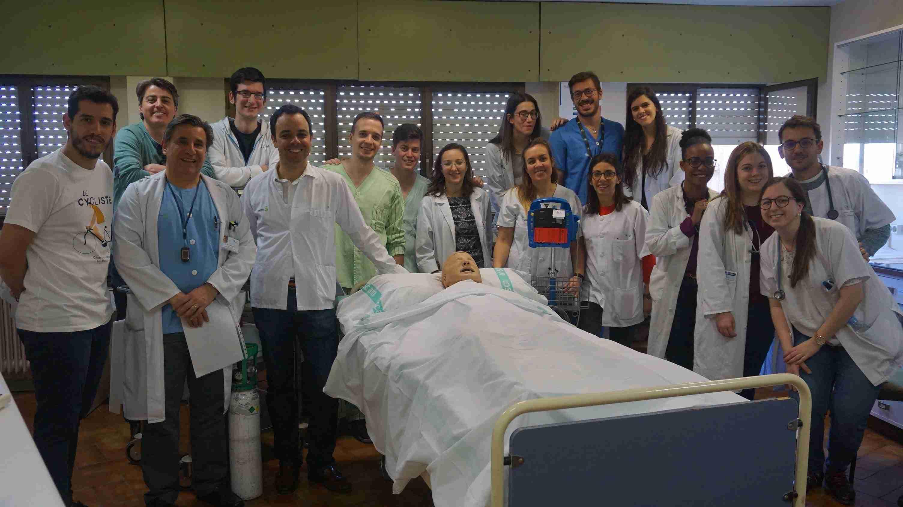 Comienzan las clases en el Aula de Simulación del Hospital de Toledo para la formación clínica de médicos residentes y estudiantes 3