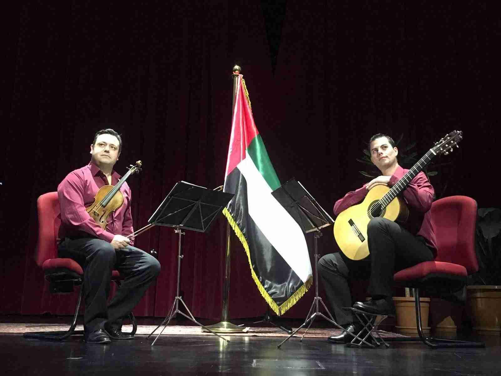 El Dúo Belcorde triunfa en Emiratos Árabes y se prepara para una nueva gira americana. 2
