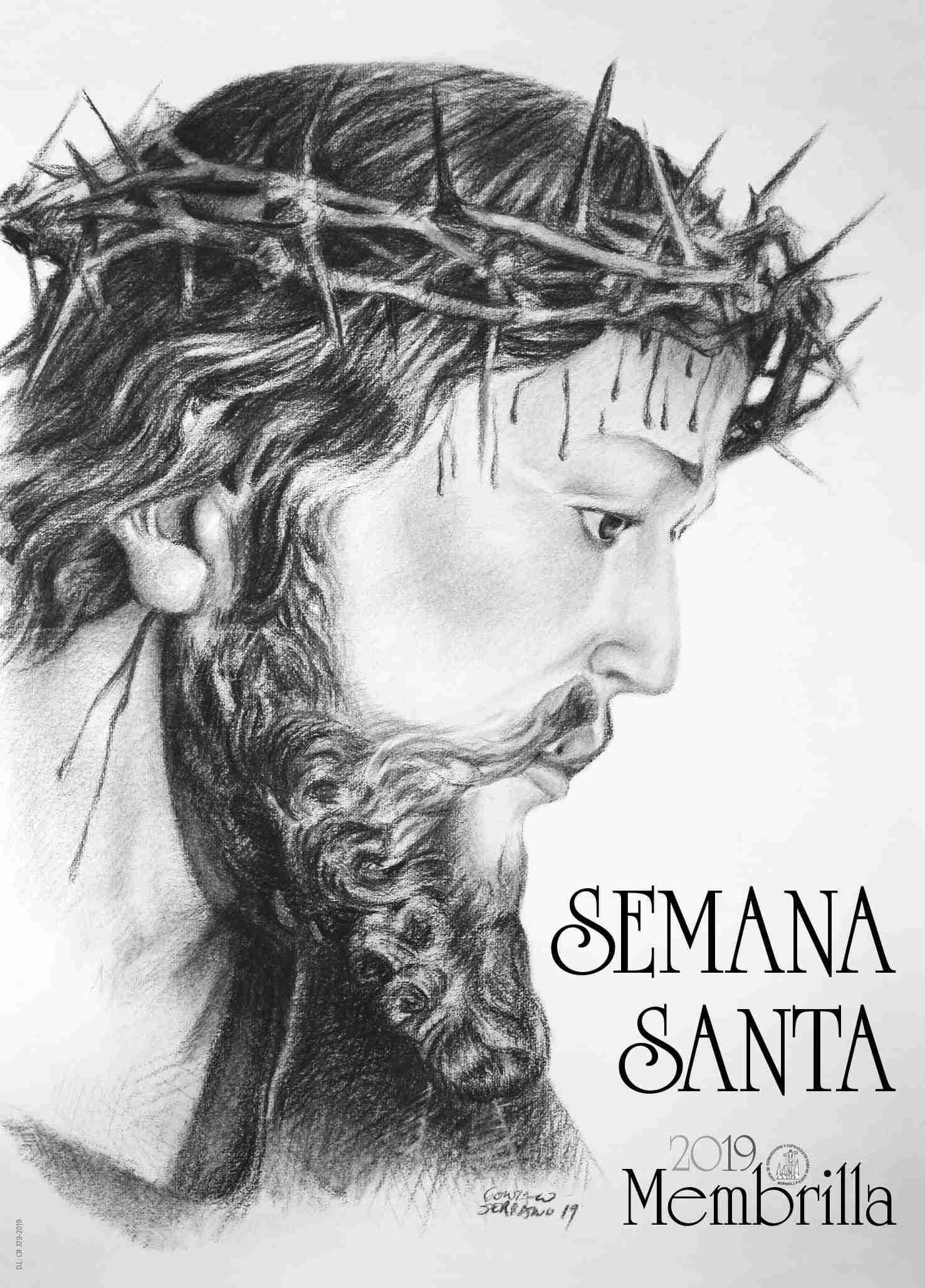Jesús Nazareno será la imagen oficial de la Semana Santa 2019 de Membrilla 1
