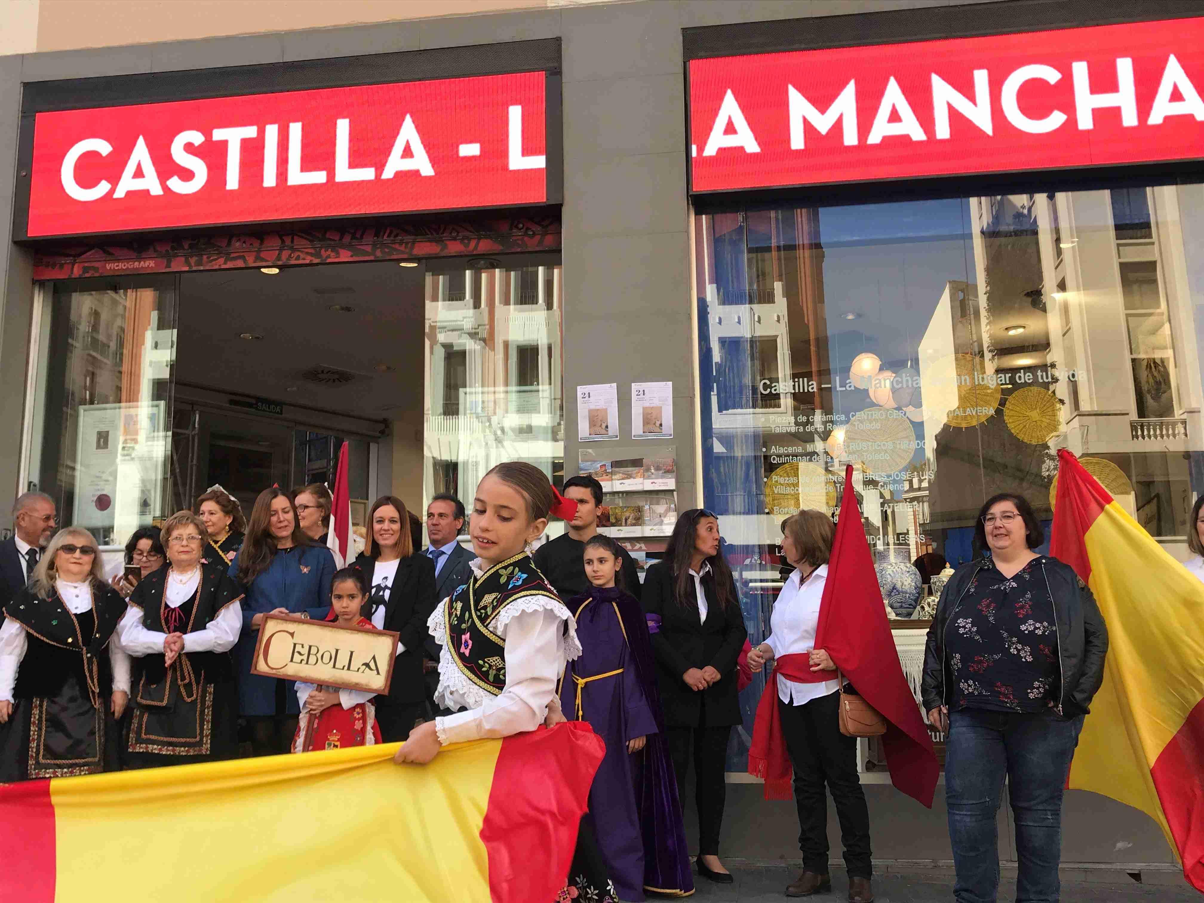 La Oficina de Promoción Turística de Castilla-La Mancha en Madrid acoge una representación de la Semana Santa de Cebolla 1