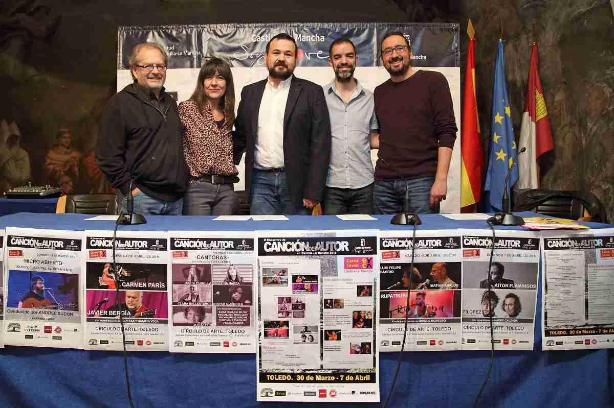 El Gobierno regional anima a participar en las actividades del III Encuentro de Canción de Autor que se celebrará en Toledo a partir del sábado 1