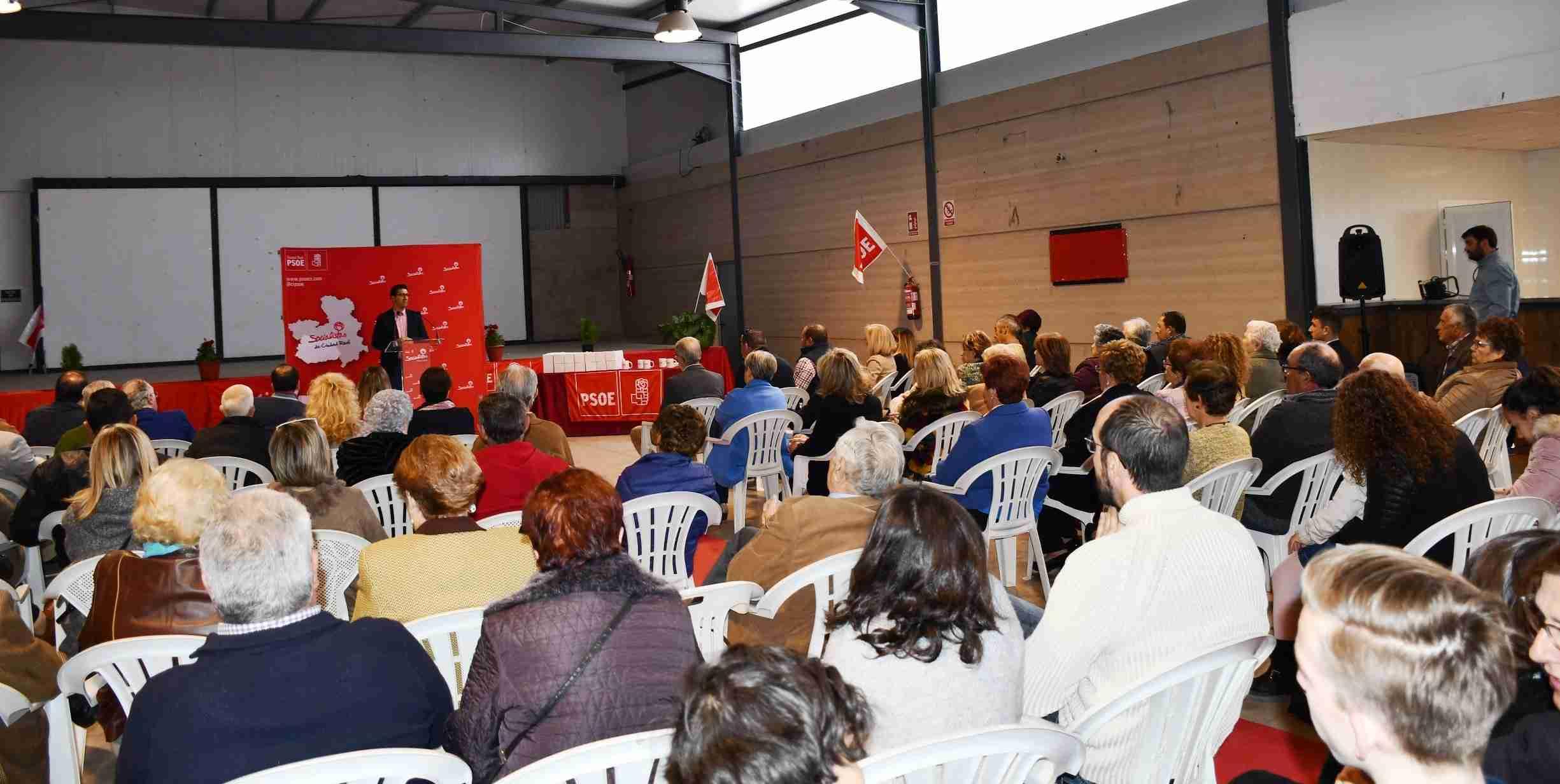Acto de homenaje a las candidaturas socialistas de Villamayor 5