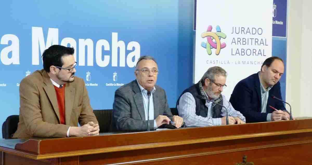 La mediación del Jurado Arbitral Laboral resolvió 58 expedientes en la provincia de Ciudad Real durante el año 2018 1