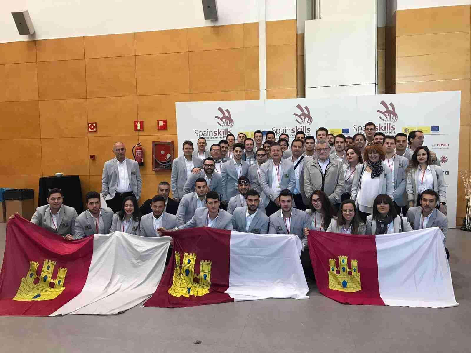 El Gobierno regional felicita a los estudiantes de FP que han demostrado su cualificación y la excelencia de su formación en las 'Spainskills 2019' celebradas en Aula 3