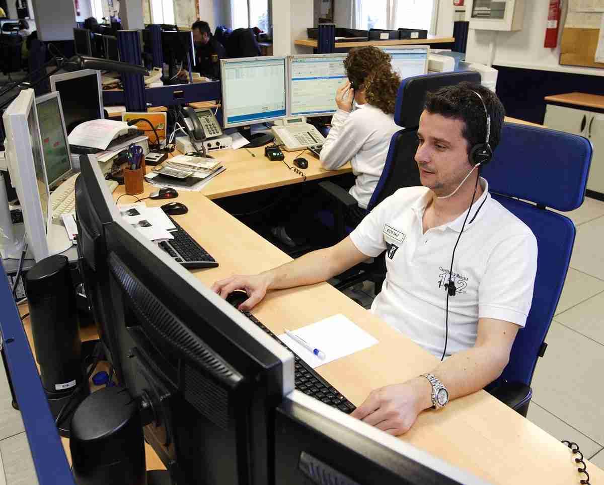 El Servicio de Emergencias 1-1-2 de Castilla-La Mancha recibió 3.840 llamadas diarias de media en 2018 1