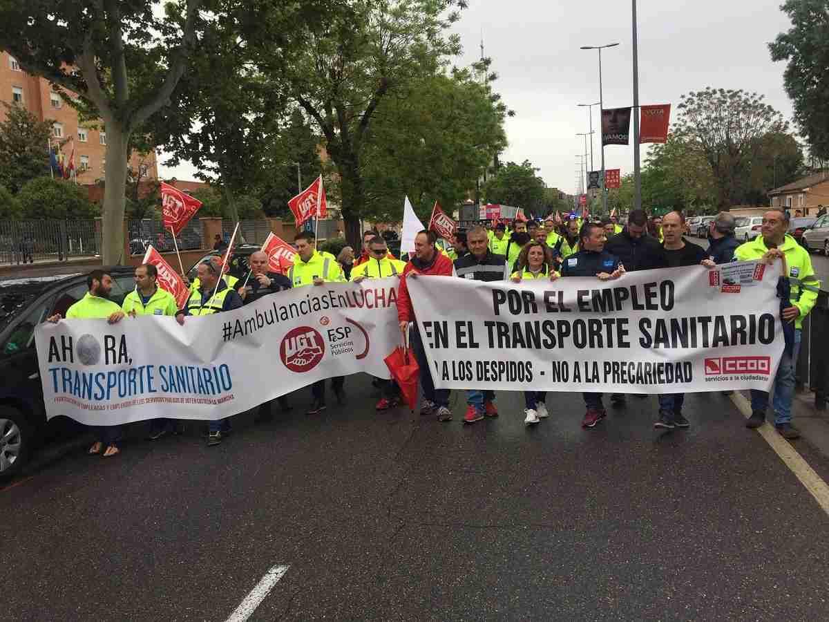 El transporte sanitario de CLM afronta a partir del viernes seis jornadas de huelgas ante la indiferencia del SESCAM 1