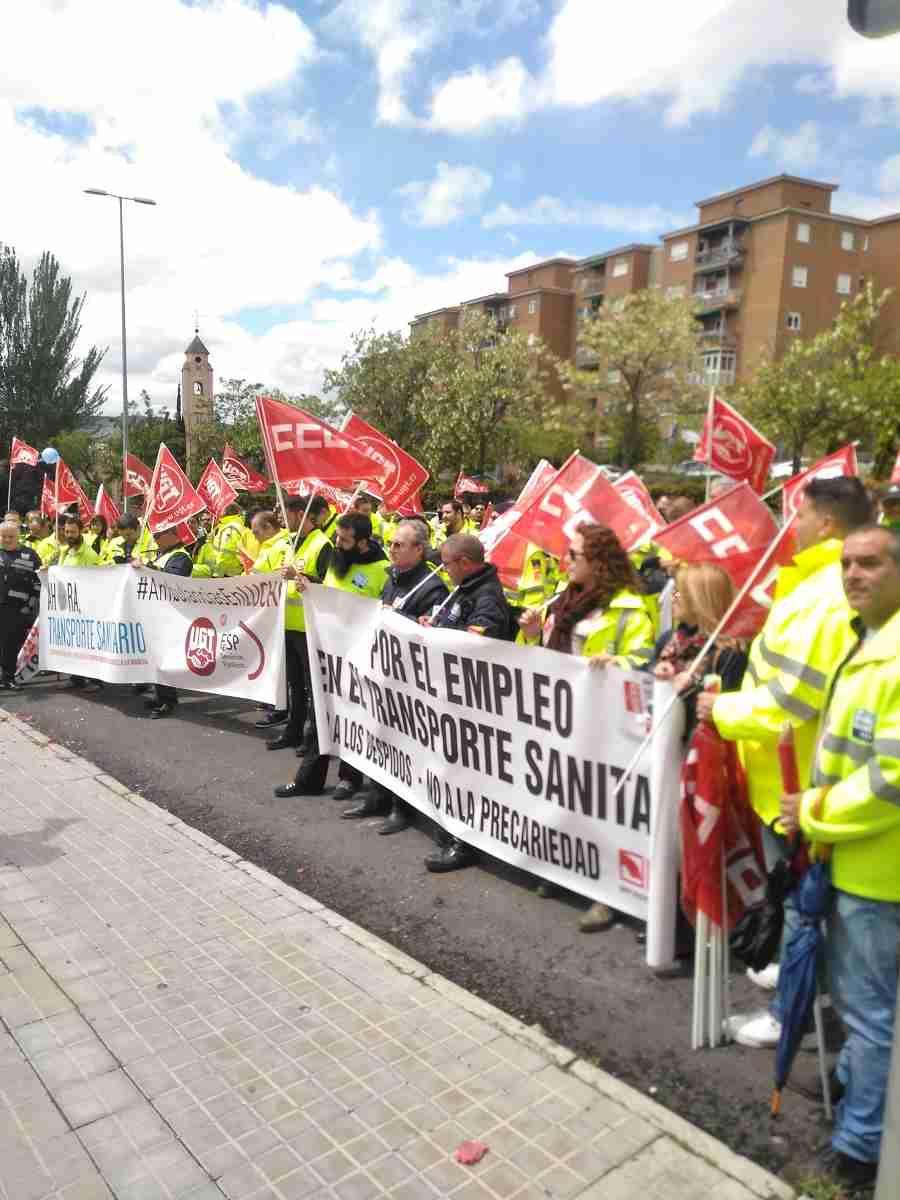 El transporte sanitario de CLM afronta a partir del viernes seis jornadas de huelgas ante la indiferencia del SESCAM 2