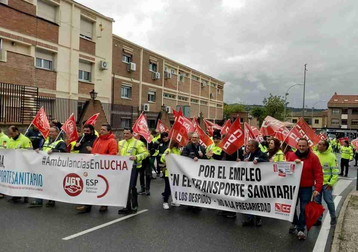 El transporte sanitario de CLM afronta a partir del viernes seis jornadas de huelgas ante la indiferencia del SESCAM 3