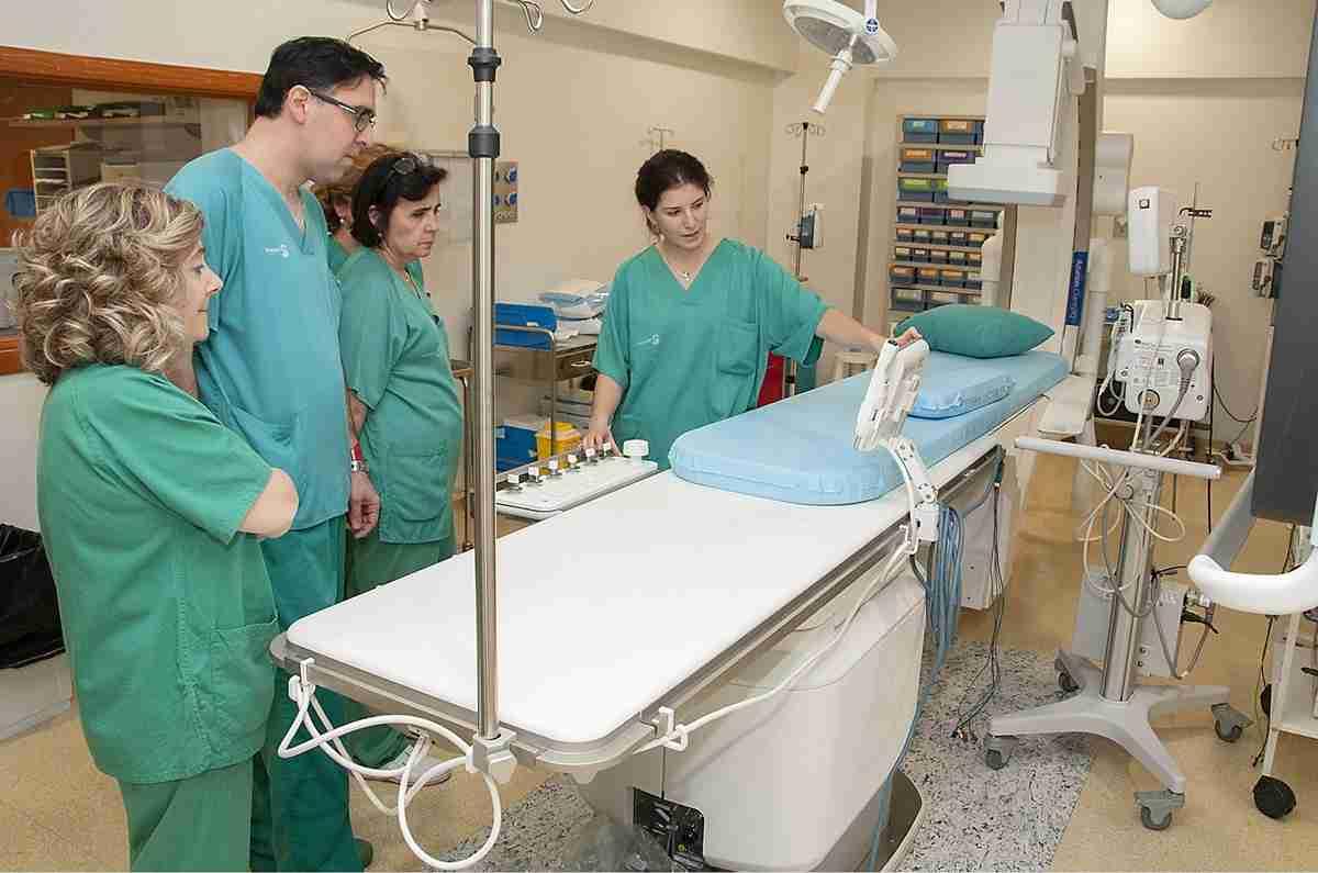 Formación para profesionales de Hemodinámica del Hospital de Guadalajara 1
