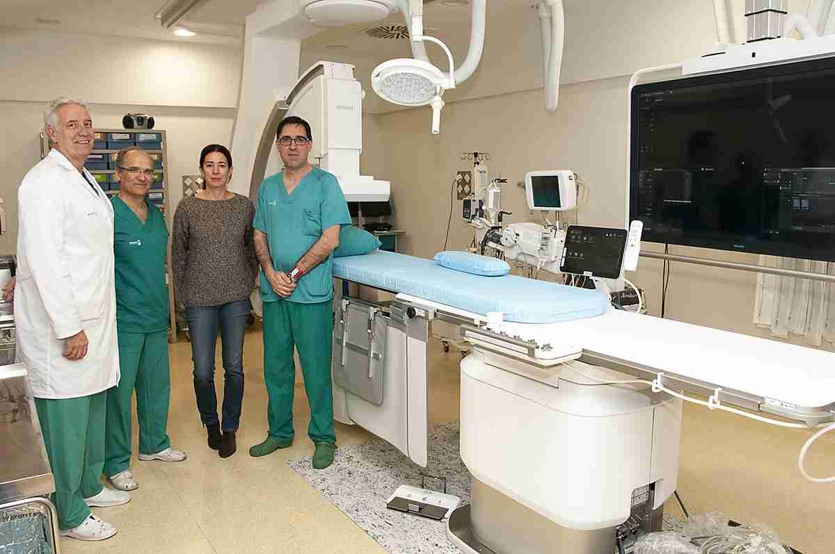 Formación para profesionales de Hemodinámica del Hospital de Guadalajara 2