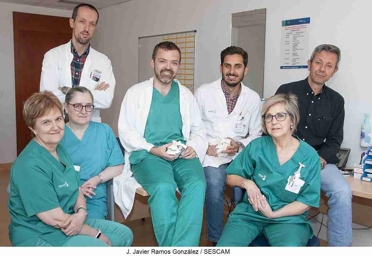 El equipo de Cirugía Maxilofacial del Hospital de Guadalajara implanta por primera vez una prótesis a medida para reconstruir la articulación temporomandibular 1