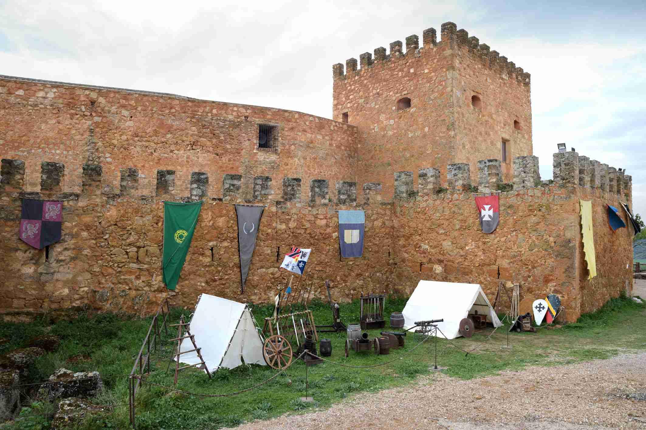 """La organización califica de """"éxito"""" el I Mercadillo Medieval 'Peñarroya del Alto Guadiana' 13"""