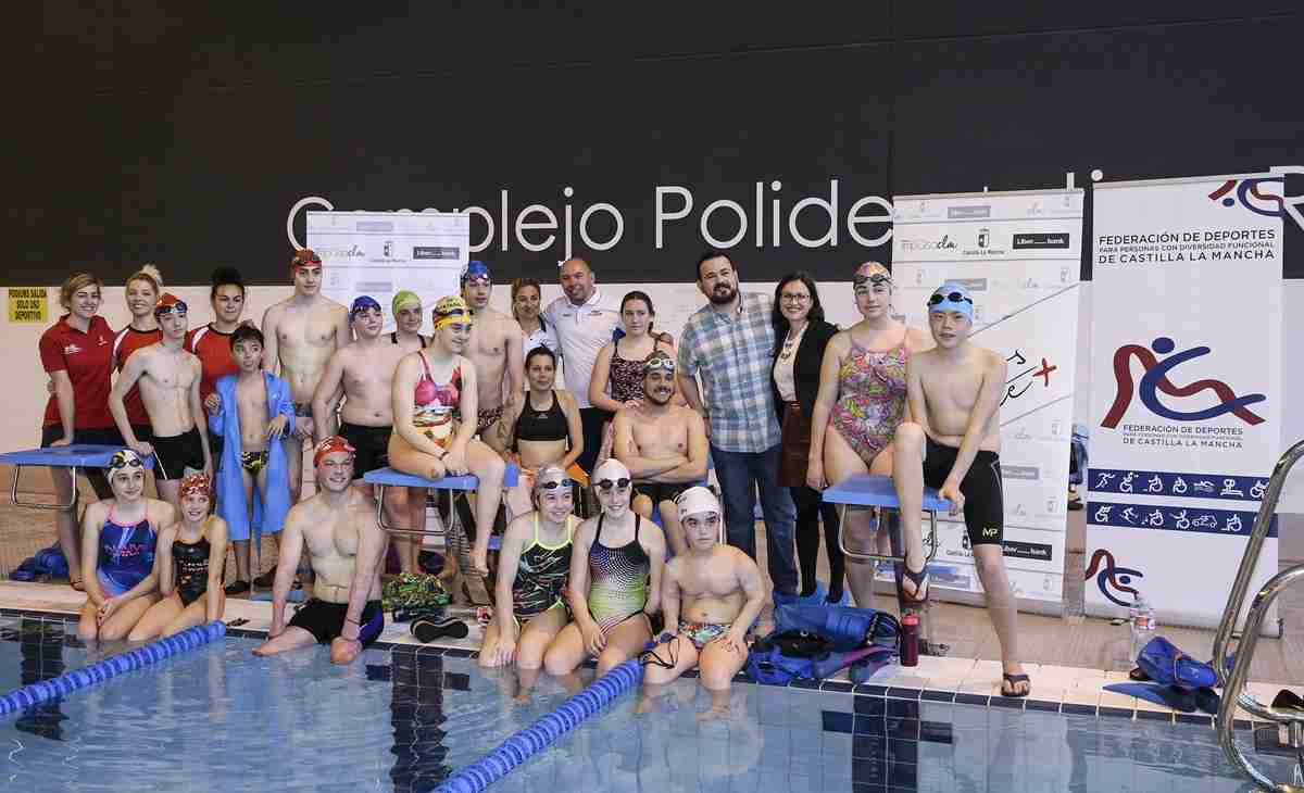 16 jóvenes de la Selección española de natación adaptada concentraron en Toledo gracias al covenio 'Somos Deporte+' 1