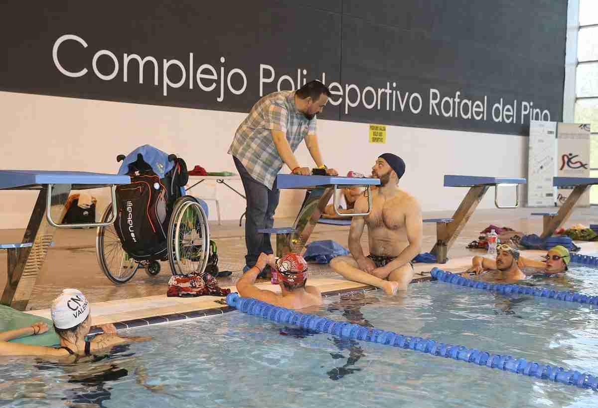 16 jóvenes de la Selección española de natación adaptada concentraron en Toledo gracias al covenio 'Somos Deporte+' 2