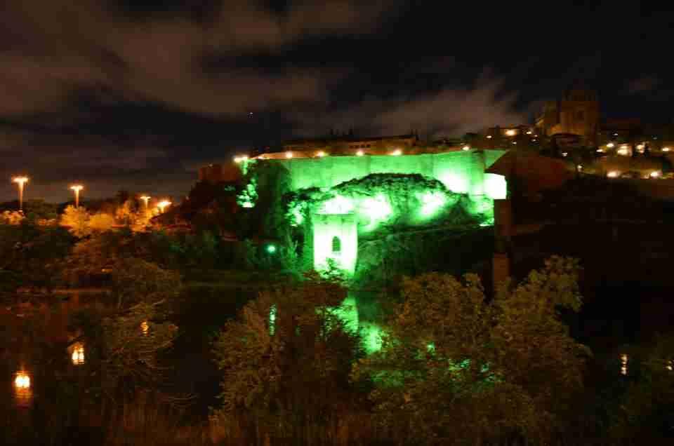 Toledo, Cuenca y Alcázar de San Juan se vistieron ayer de verde por la fibrosis quística 12