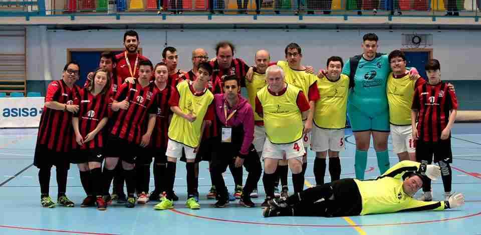Gran participación en el campeonato regional de fútbol sala para personas con discapacidad intelectual 4