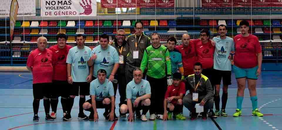 Gran participación en el campeonato regional de fútbol sala para personas con discapacidad intelectual 2