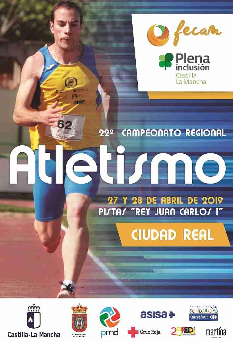 La pista de atletismo Rey Juan Carlos I albergará el 22º campeonato regional de atletismo 3