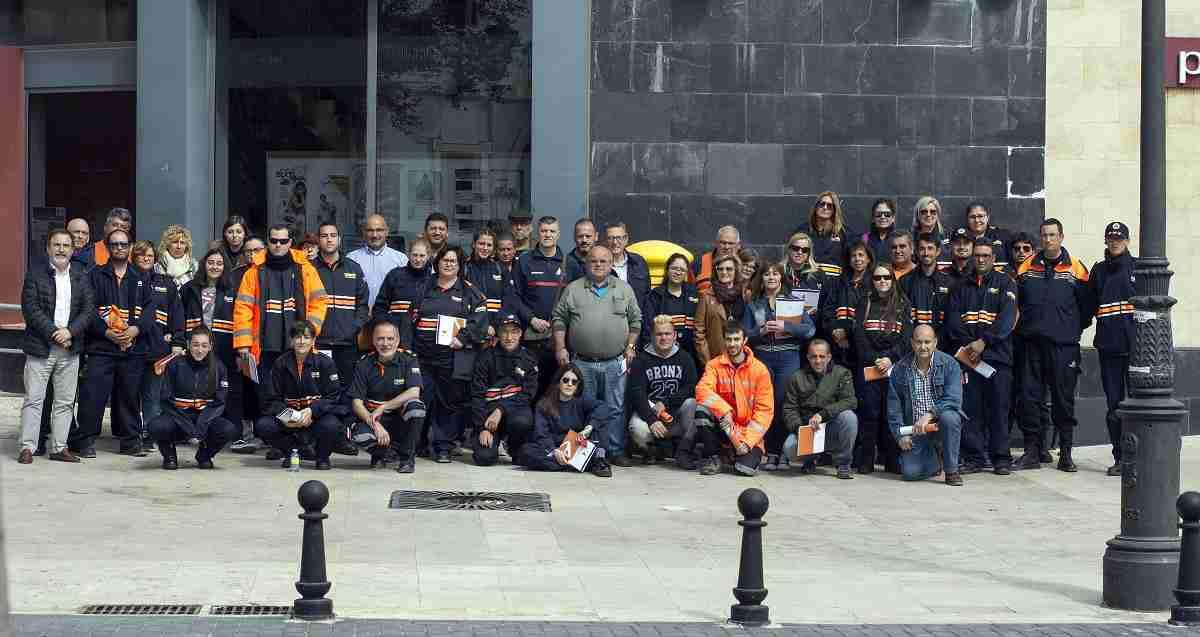 60 alumnos participan en la XVII edición del curso básico de formación para voluntarios de Protección Civil 1