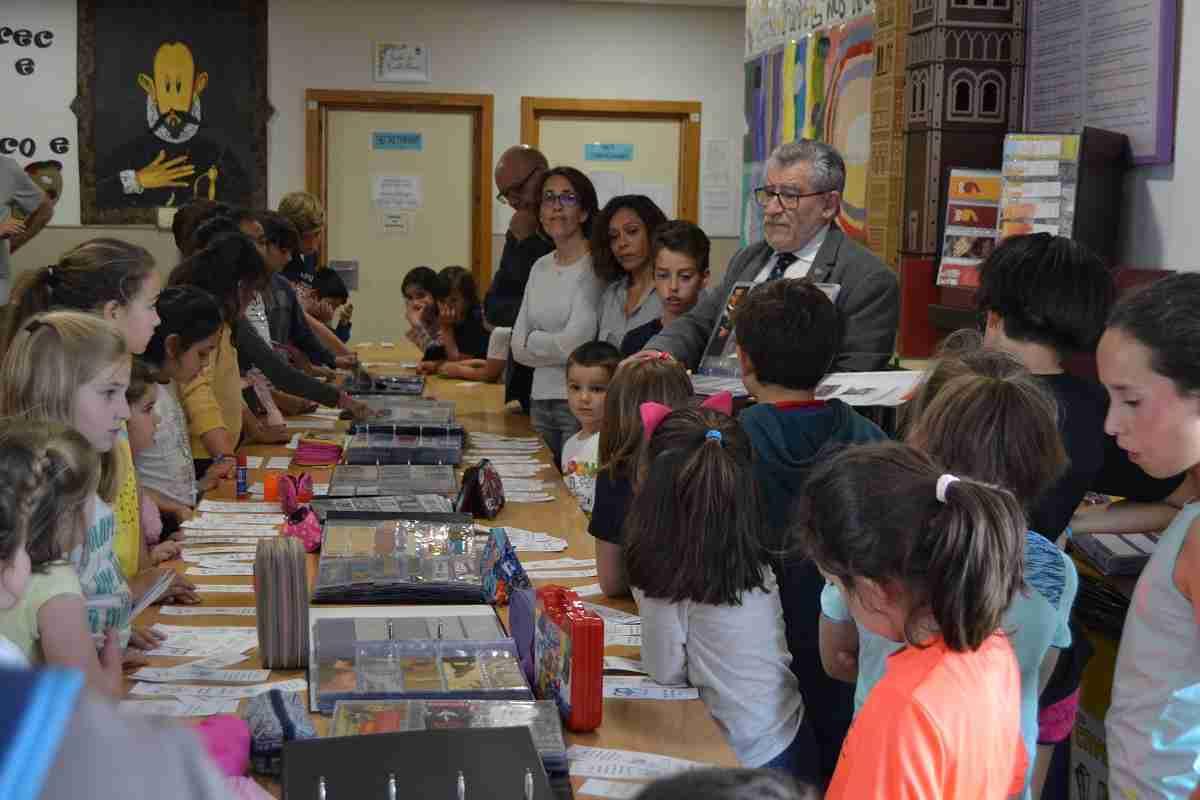 Felpeto comparte con la comunidad educativa de Olías del Rey las actividades organizas por el Día del Libro 2