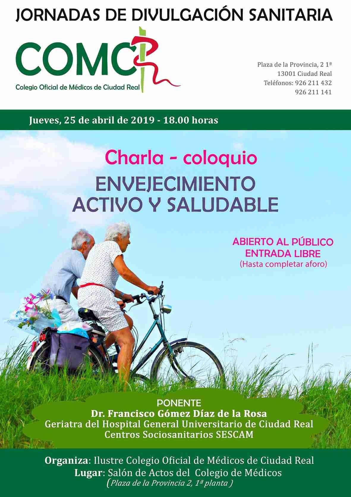 Jornadas de divulgación sanitaria: envejecimiento activo y saludable 2