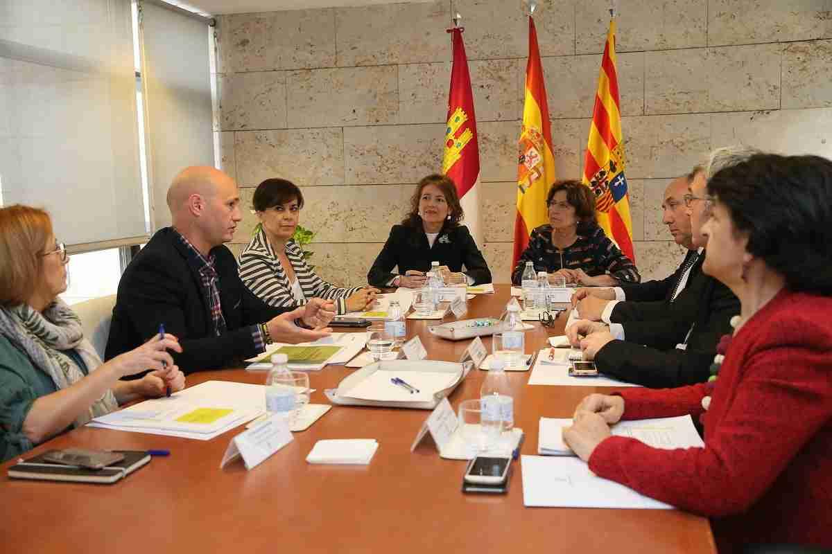 El Gobierno de Castilla-La Mancha y el de Aragón intercambian experiencias en materia de Servicios Sociales 1