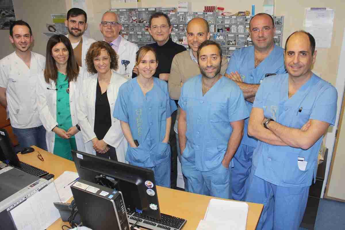 Facultativos del Hospital de Toledo, premiados por un protocolo multidisciplinar de cirugía de carótidas 2