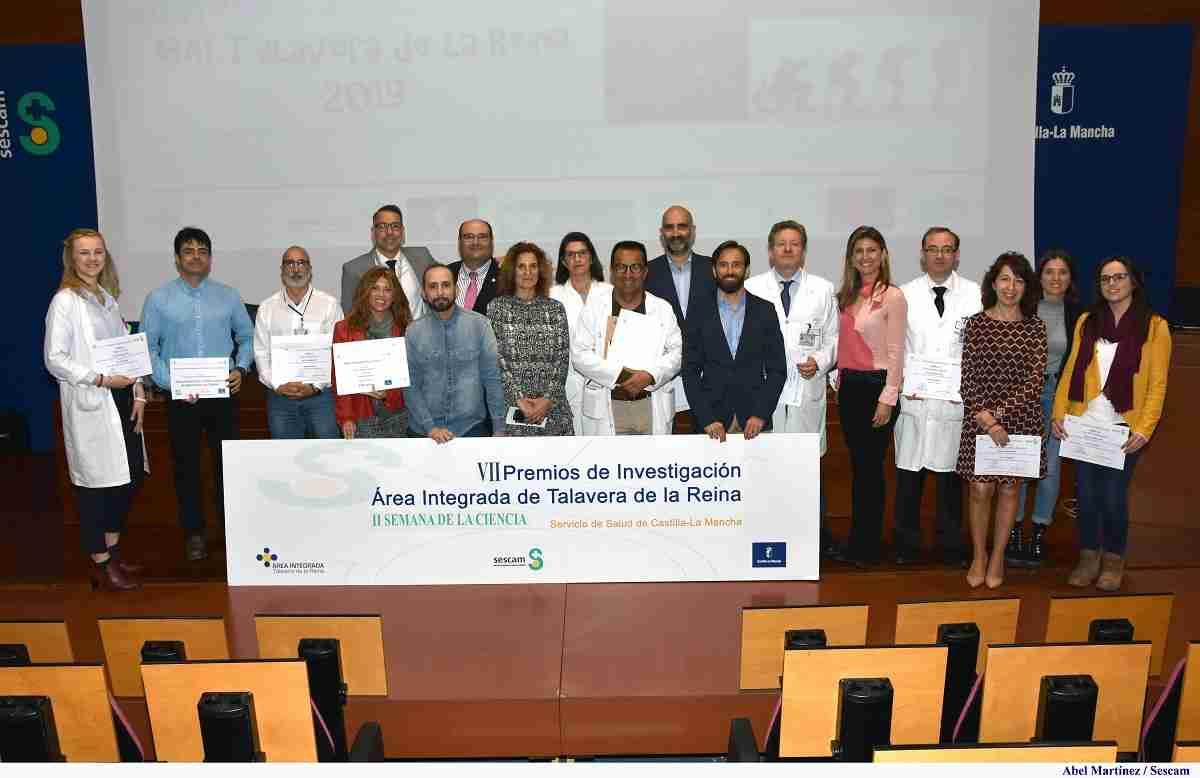 El Área Integrada de Talavera reconoce la labor investigadora de sus profesionales 1