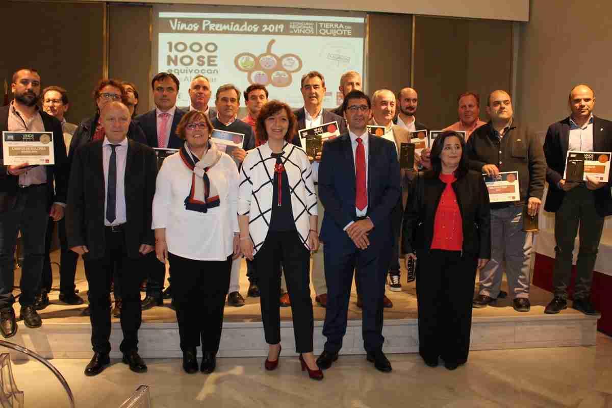El Gobierno de Castilla-La Mancha felicita a los galardonados en el concurso regional de vinos '1000 no se equivocan' 1