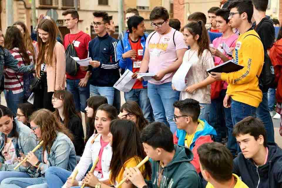 """Alrededor de 400 alumnas y alumnos participan hoy en Toledo de la III Jornada """"Los profes y sus orquestas' con actuaciones por la ciudad 2"""