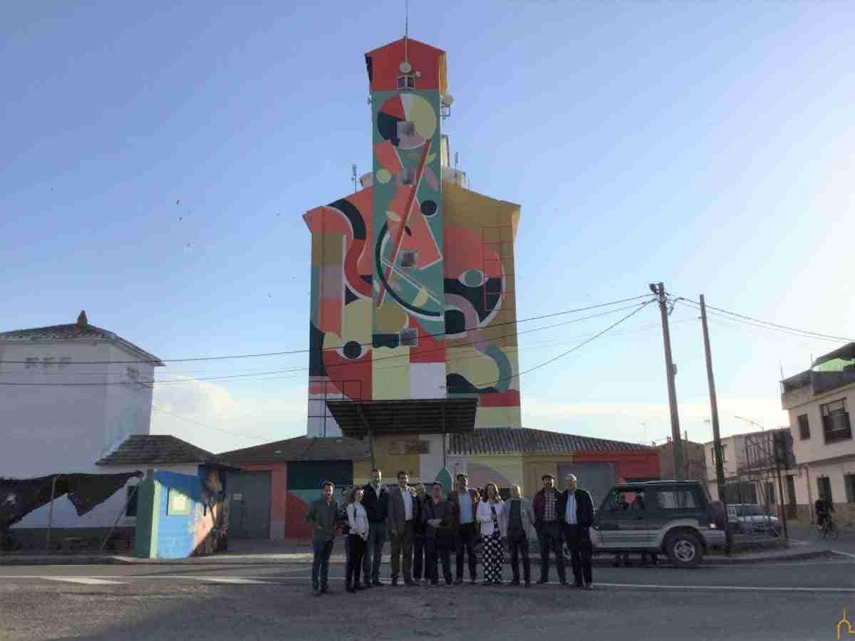 La Diputación recupera los silos e implica a personas con capacidades diferentes en un proyecto de arte mural sin precedentes 11