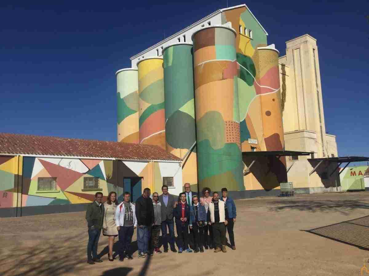 La Diputación recupera los silos e implica a personas con capacidades diferentes en un proyecto de arte mural sin precedentes 10