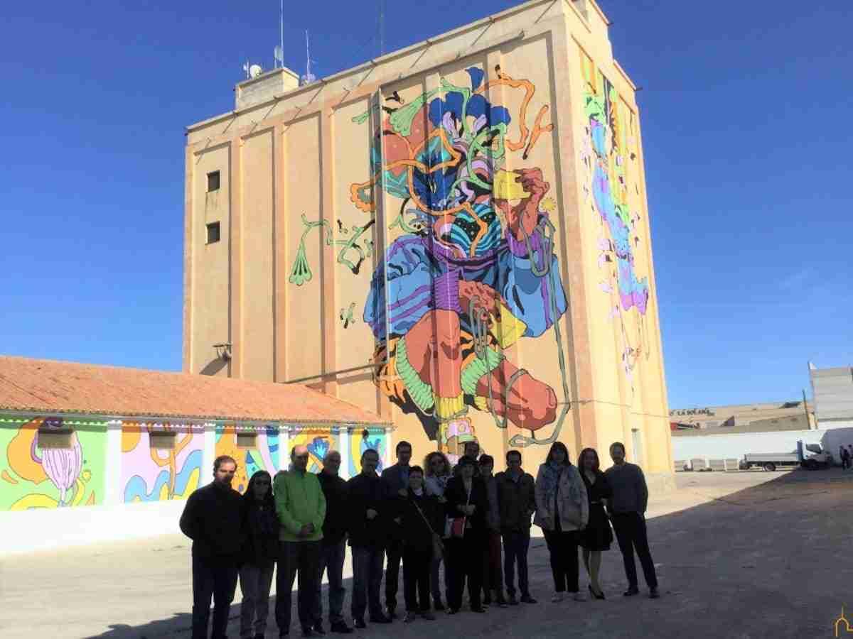La Diputación recupera los silos e implica a personas con capacidades diferentes en un proyecto de arte mural sin precedentes 12