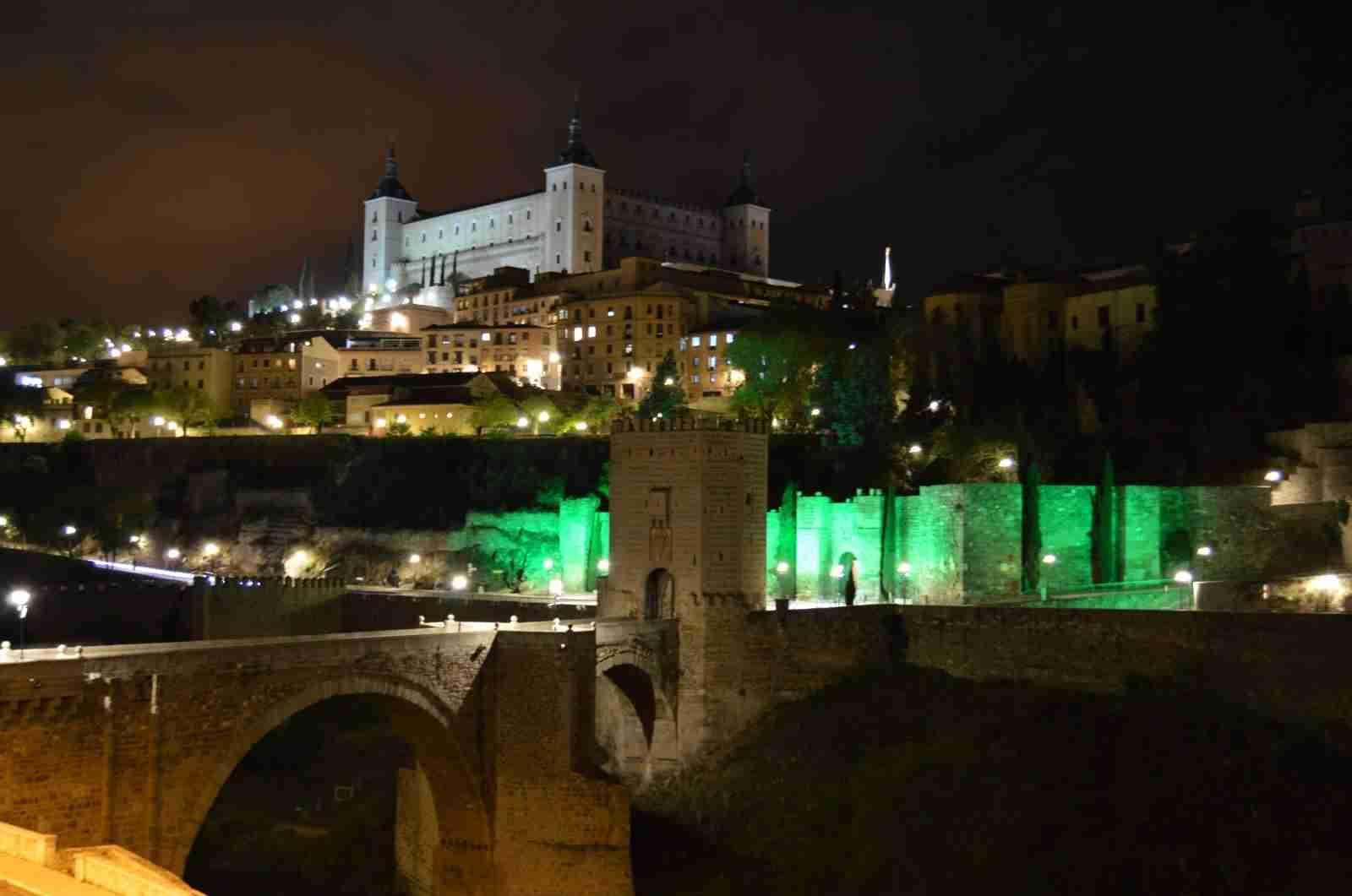 Toledo, Cuenca y Alcázar de San Juan se vistieron ayer de verde por la fibrosis quística 9